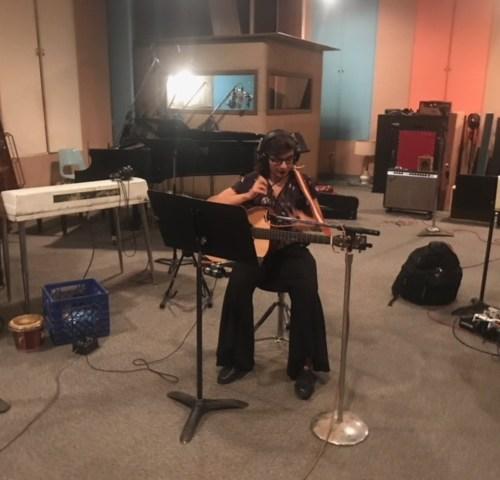 Roberta Finocchiaro - studio di registrazione