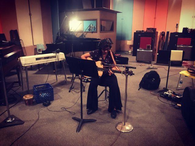 Roberta Finocchiaro in studio a Memphis