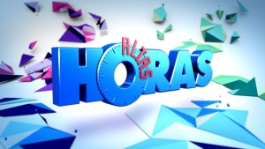 Laura Pausini @ Altas Horas – Globo TV Sao Paulo