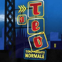 Teo Teocoli – Il Teo sono tornato Normale