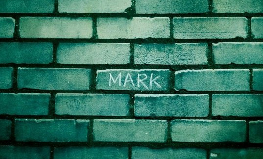 Mark on wall