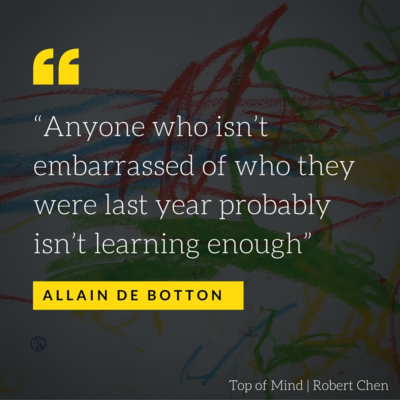 Allain de Botton - be better
