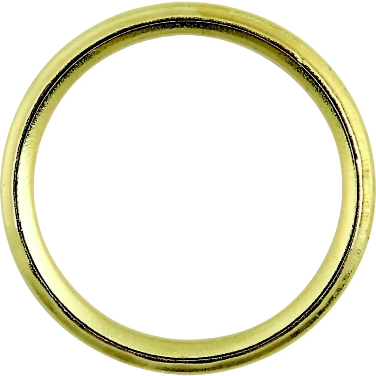 select hardware curtain rings split electro brass 25mm 5 pack