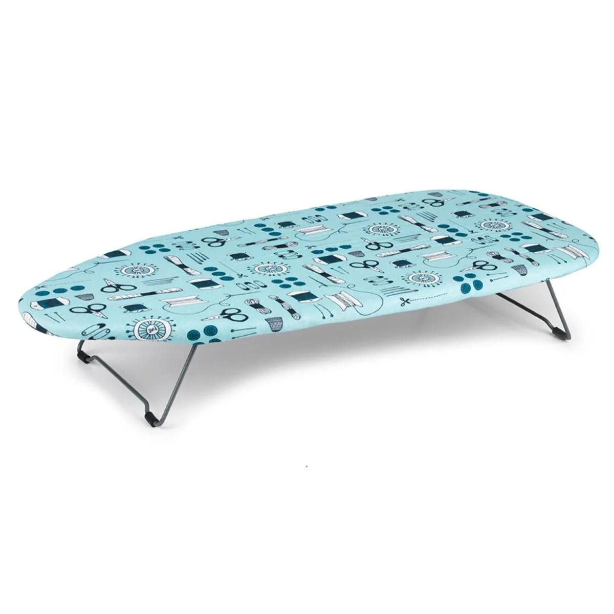 Sewing Print 73 X 33cm Tabletop Ironing Board Robert Dyas