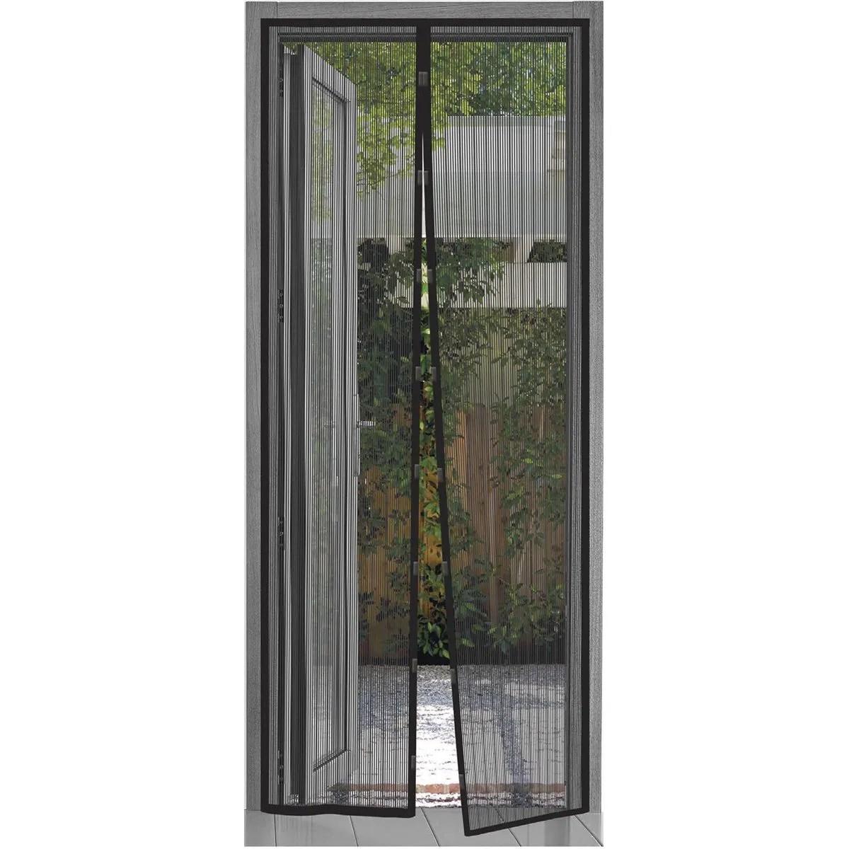 quest bug stop door insect screen black