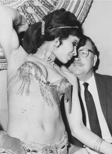 Belly dancer, Lebanon 1961