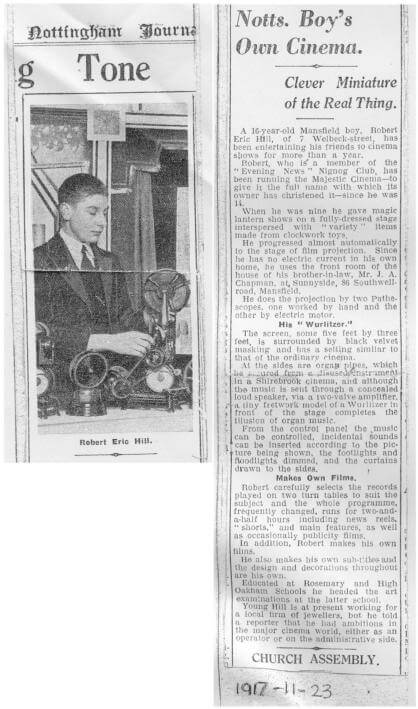 Nottingham Journal cinema story