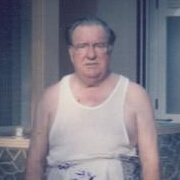 Robert Eric Hill when about 79 in Sri Lanka