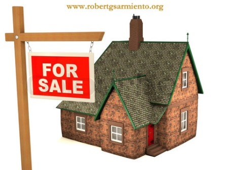 3D House and sign For Sale