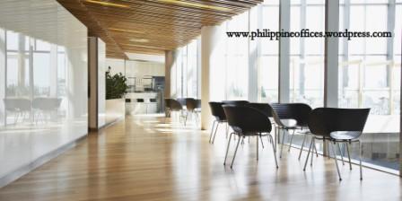 Modern office corridor