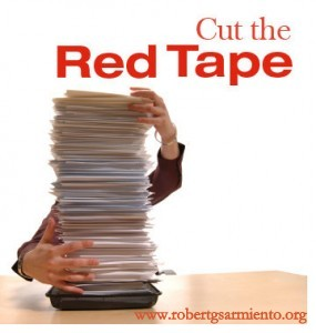 red tape p