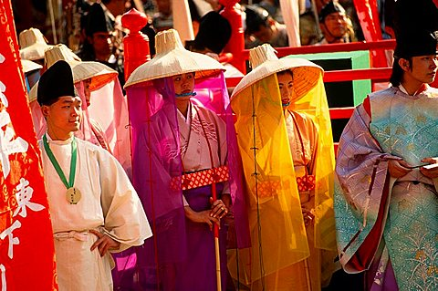 Japan, Tokyo, Jidai Matsuri, festival,