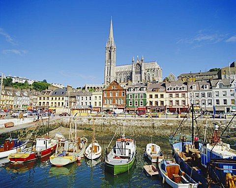 The Port of Cork City, Cork, County Cork, Munster, Republic of Ireland (Eire), Europe