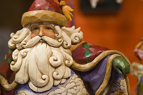 Santa Claus (Father Christmas), Christmas Market, Cologne, Germany, Europe