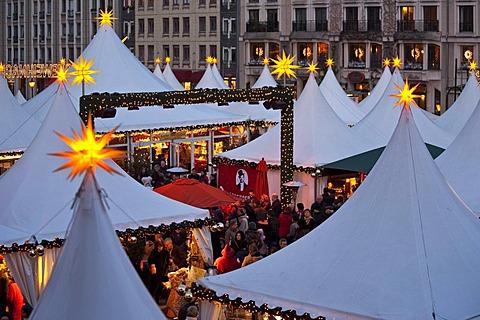 Christmas market on Gendarmenmarkt, Berlin, Germany, Europe
