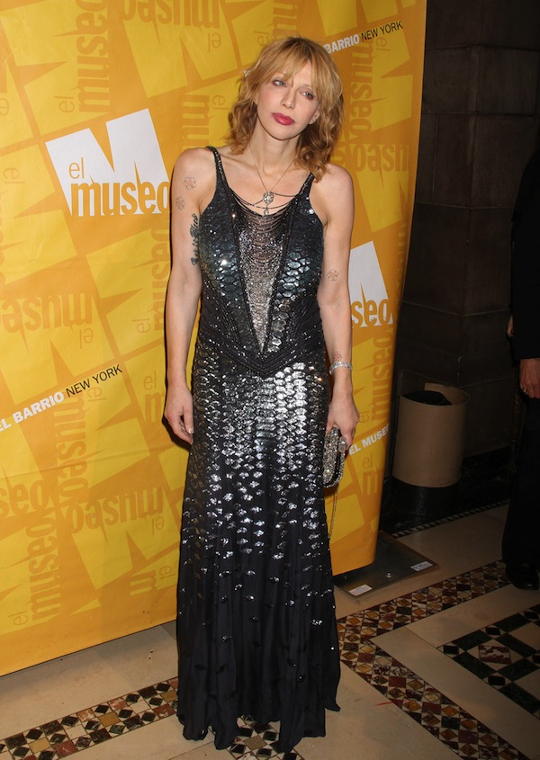 Courtney Love in Roberto Cavalli @ El Museo Del Barrio Gala 26-05-2011 NYC