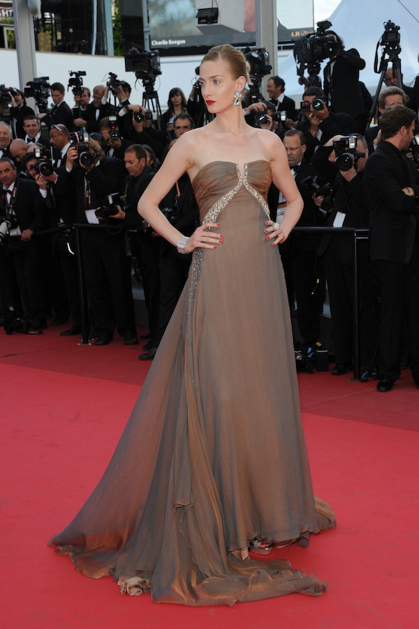 Eva Riccobono  in Roberto Cavalli @ Cannes Film Festival 2011 'The Beaver' premiere 17-05-2011
