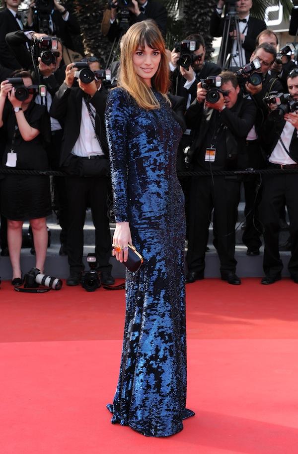Gaia Bermani Amaral in Roberto Cavalli @ Cannes Film Festival 2011 Opening Ceremony 11-05-2011