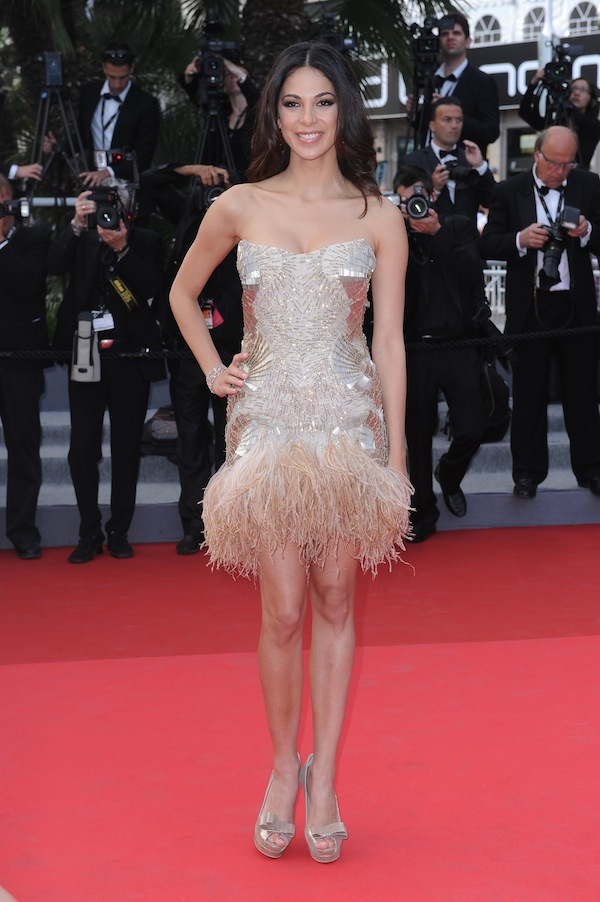 Moran Atias in Roberto Cavalli @ Cannes Film Festival 2011 'The skin I live in' premiere 19-05-2011
