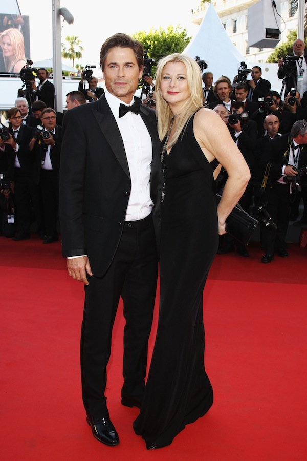 Cannes Film Festival 2011: Rob Lowe in Roberto Cavalli