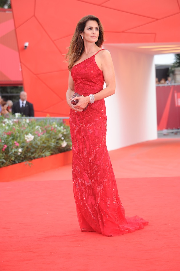 Cindy Crawford in Roberto Cavalli @ 68th Venice Film Festival 31-08-2011