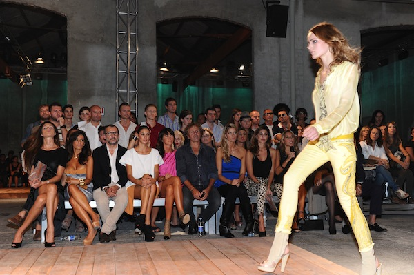 Front Row @ Just Cavalli PE2012 fashion show 24-09-2011 Milano