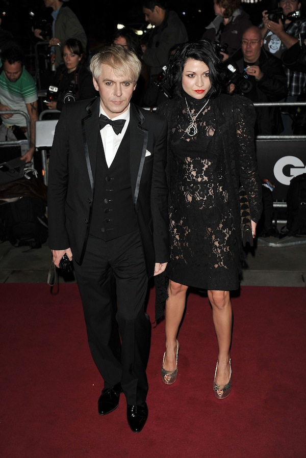 Celebrities in Roberto Cavalli at the GQ Men Of The Year Awards 2011