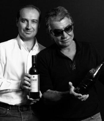 Roberto Cavalli and Tommaso Cavalli