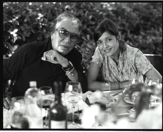 Roberto Cavalli and Rachele Cavalli