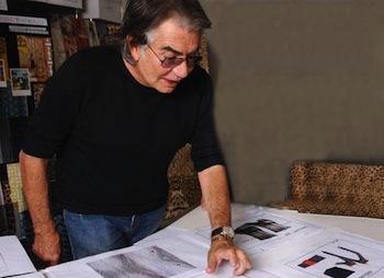 Roberto Cavalli at work