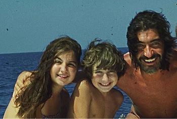 Cristiana, Tommaso and Roberto Cavalli