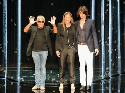 Eva, Roberto and Daniele Cavalli