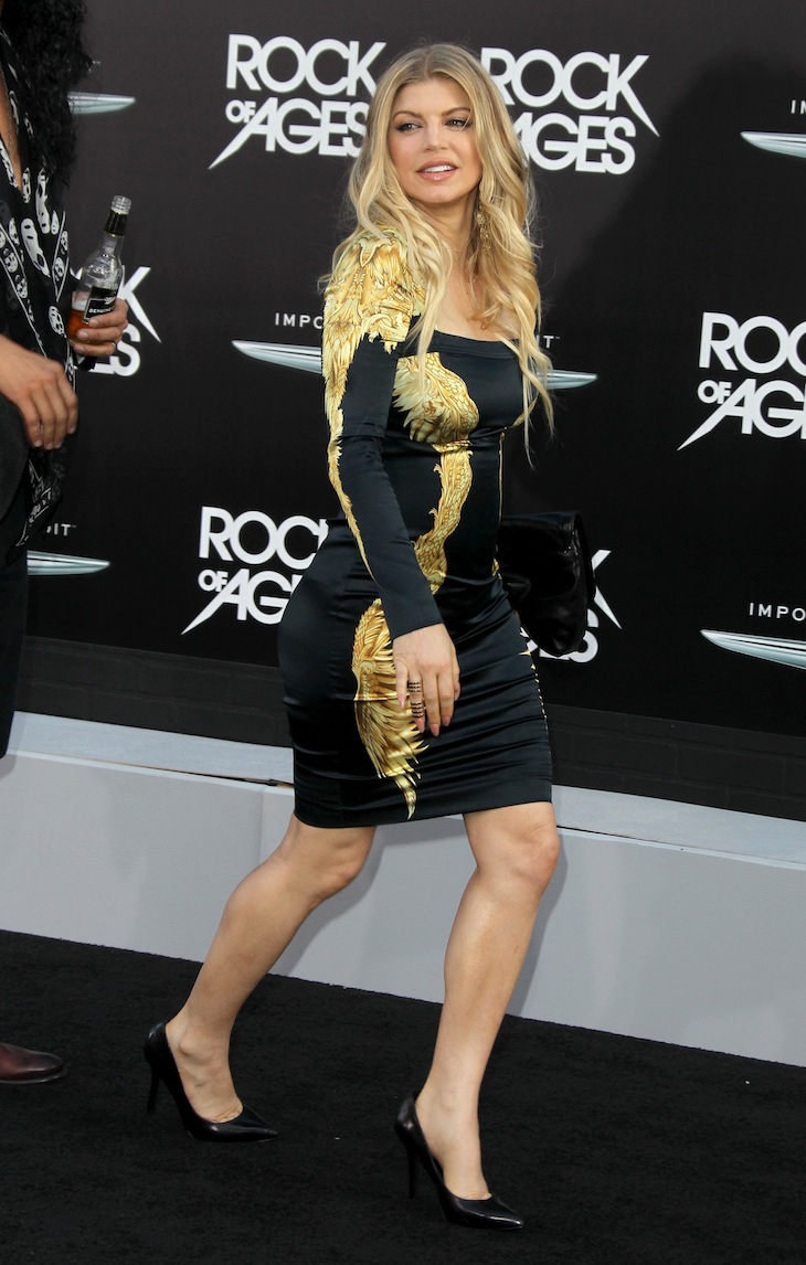 Fergie in Roberto Cavalli