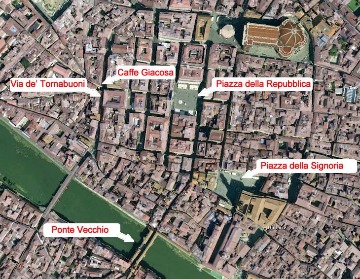 Firenze - Caffe Giacosa