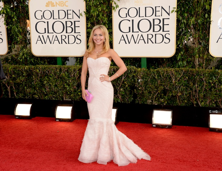 Hayden Panettiere in Roberto Cavalli - 70th Golden Globe Awards