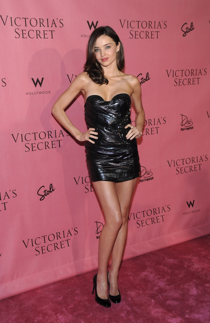 Miranda Kerr in Roberto Cavalli at Victoria's Secret event 11 May 2010