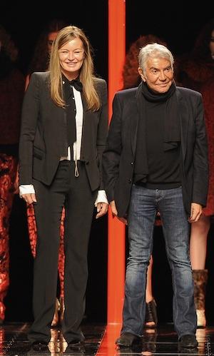 Roberto and Eva Cavalli