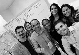 Alguns jovens empreendedores da contabilidade que participaram do Workshop Contador 2.0 promovido pelo CRC/AM