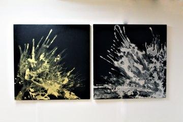 Exposición temporal Nigredo de Diego Uvence en Casa Lamm