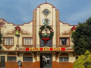 Palacio municipal, antiguamente edificio de obras públicas en Progreso de Obregón, Hidalgo.