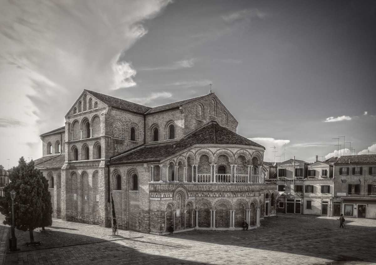 san donato church in murano