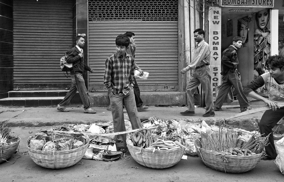 selling of vegetables
