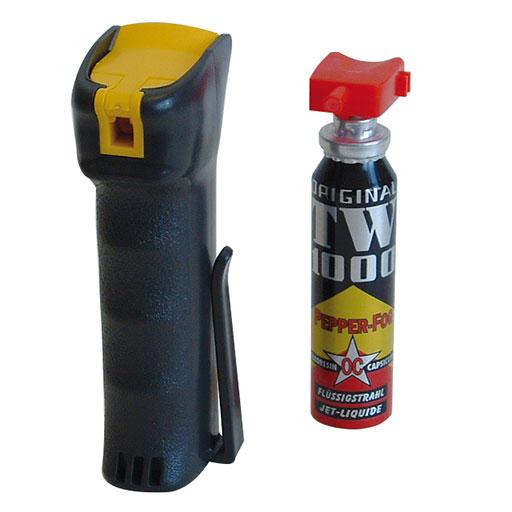 Il tanto discusso spray al peperoncino