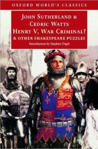 Henry V sutherland