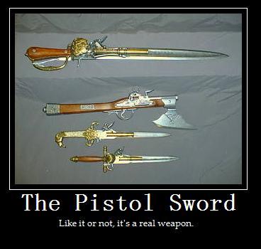 Pistol Sword