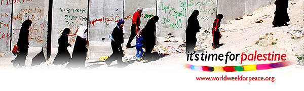 World week for peace in Palestine