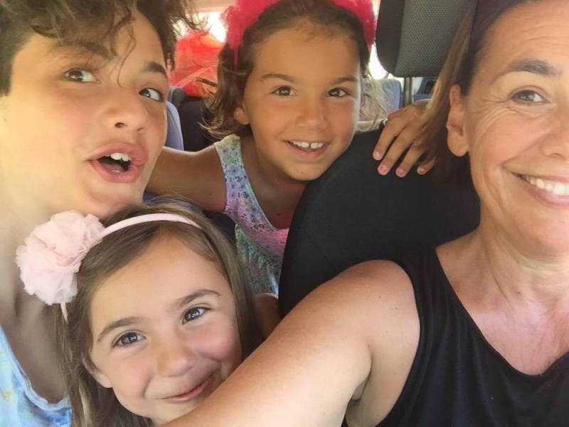 Iole Sedda e famiglia