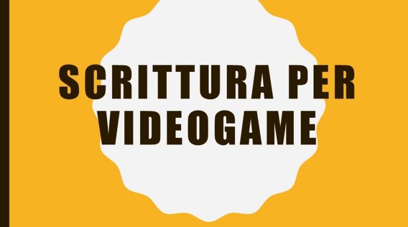 Scrivere storie per (video)gioco