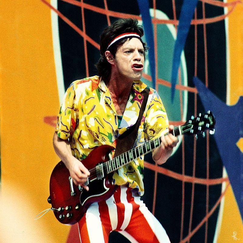 Mick Jagger - The Rolling Stones 1982