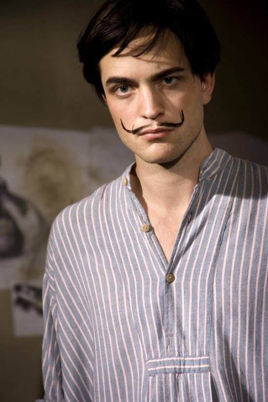 Robert as young Salvador Dali in Little Ashes